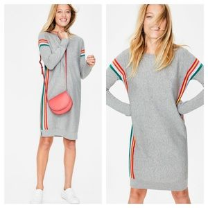Boden Talise knit rainbow 🌈 sweater dress 10